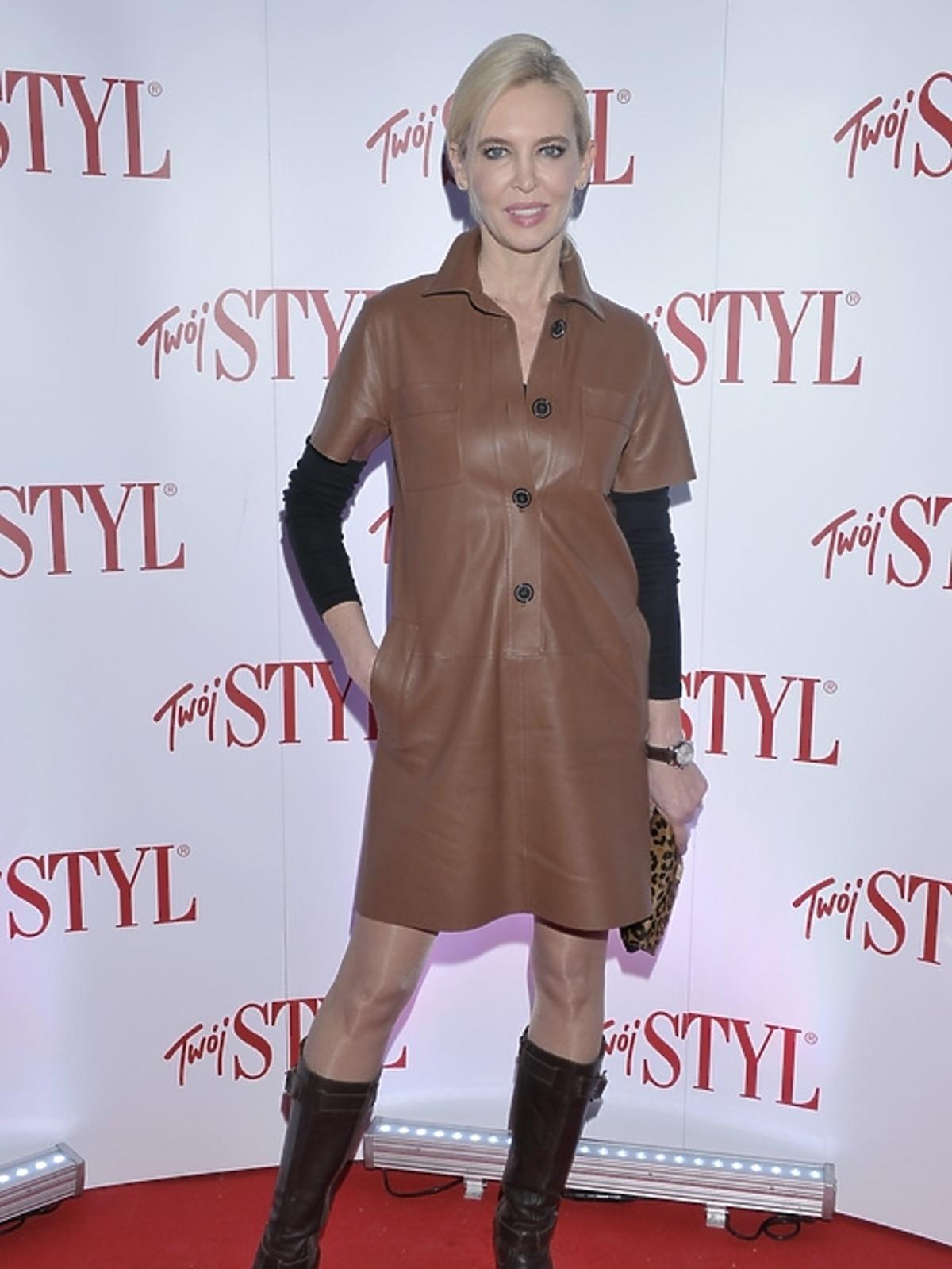 Bogna Sworowska na gali Doskonałość Mody 2012
