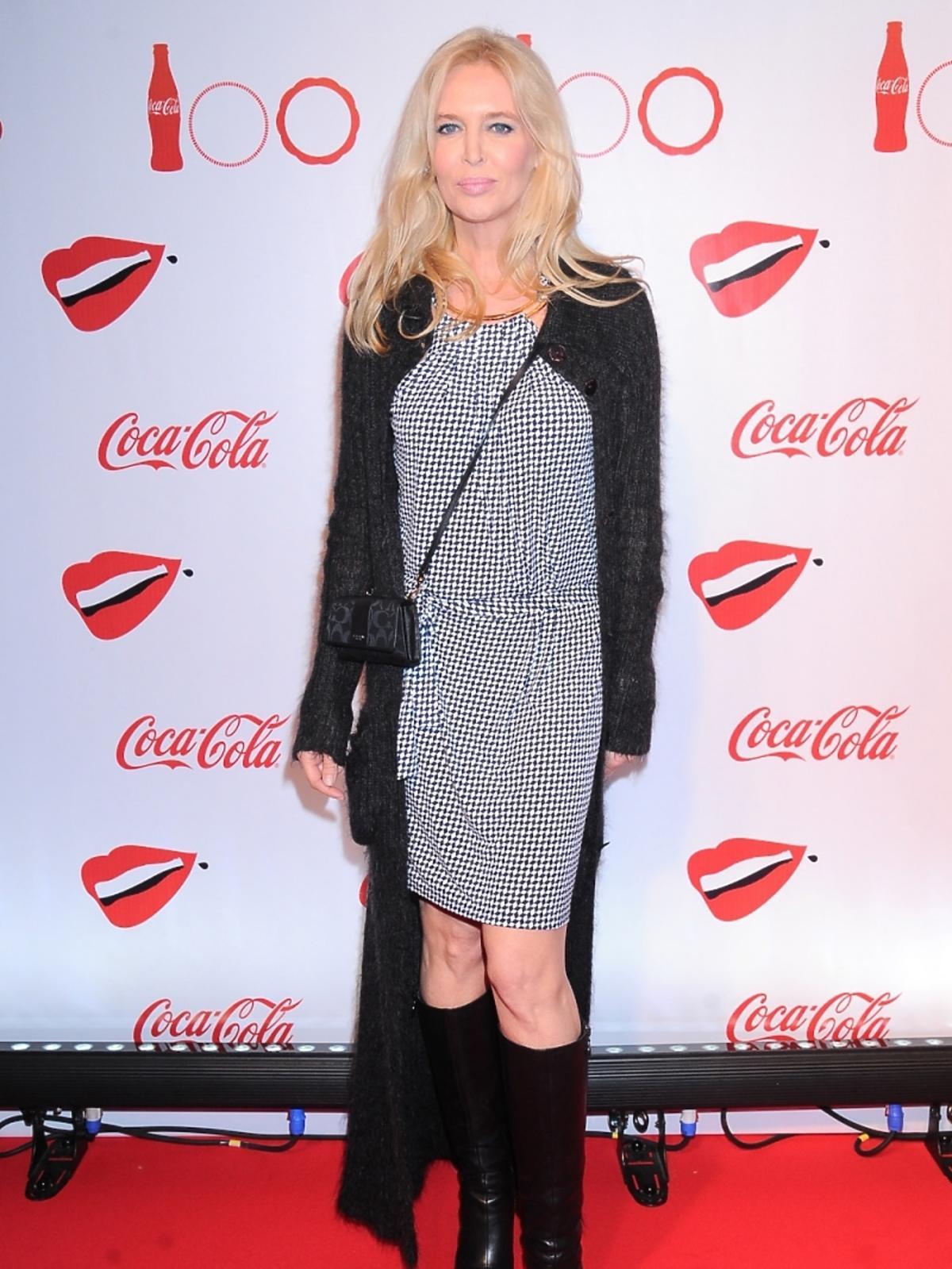 Bogna Sworowska na imprezie Coca-Coli