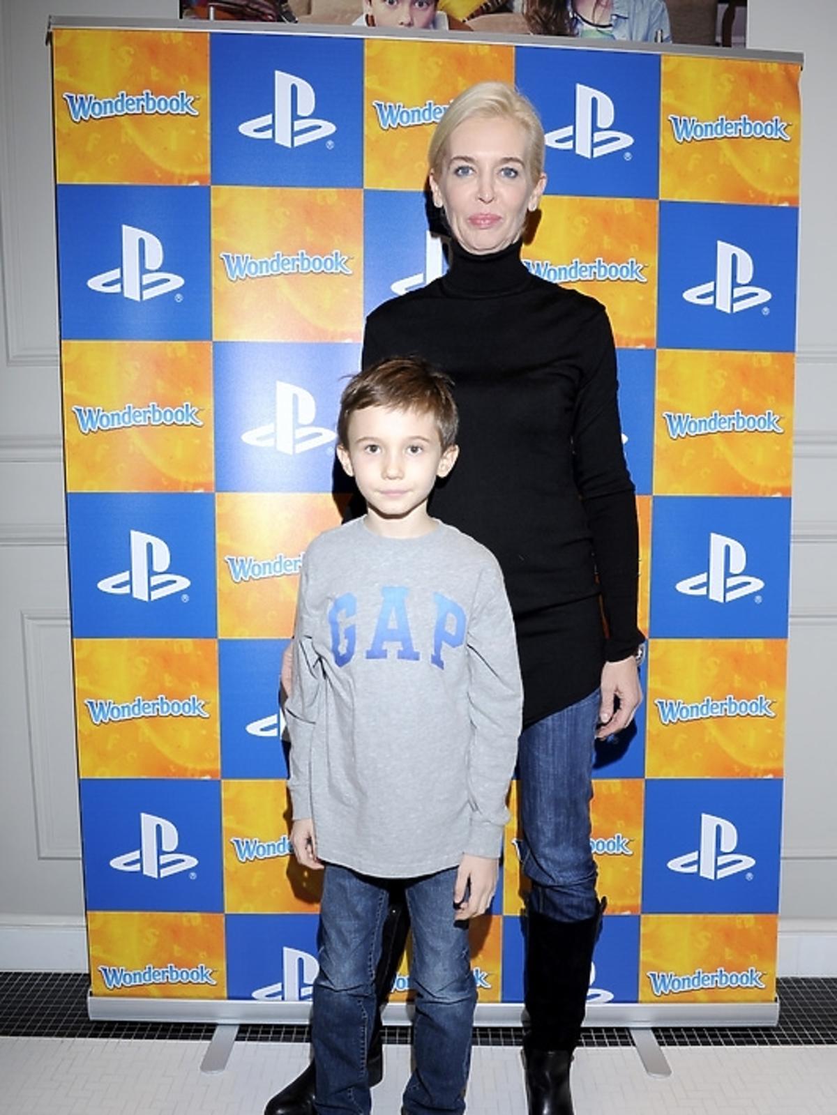 Bogna Sworowska na premierze PlayStation 3 - Wonderbook: Księga Czarów