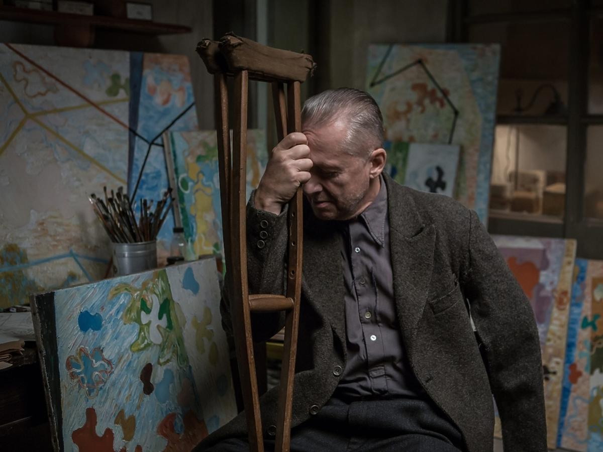Bogusław Linda w filmie Powidoki
