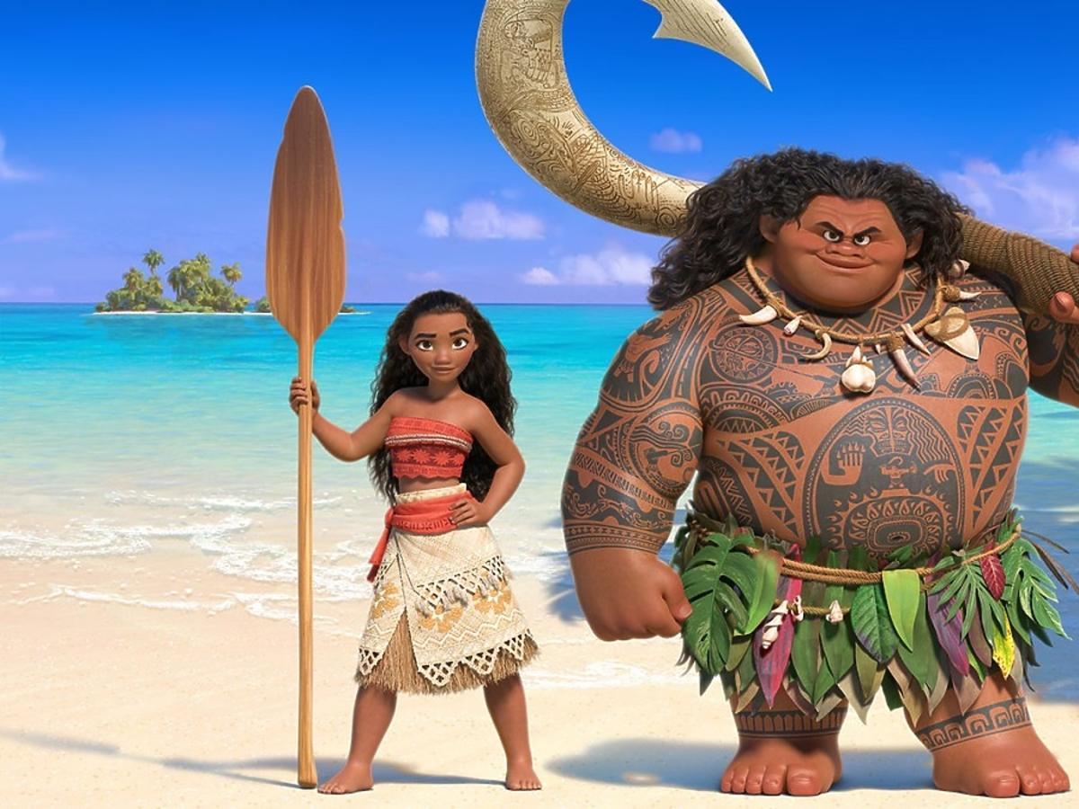 bohaterowie filmu Vaiana: Skarb oceanu