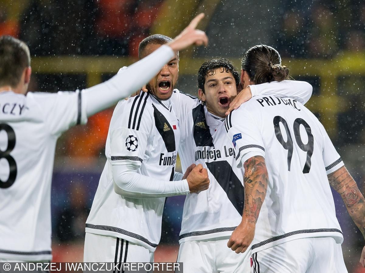 Borussia Dortmund zmiażdżyła Legię