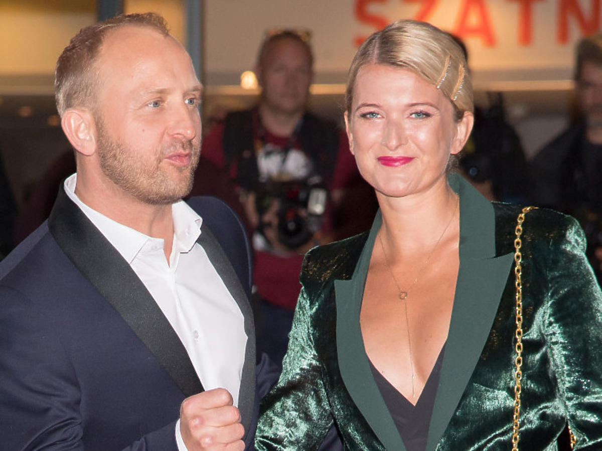 Borys Szyc i Justyna Nagłowska