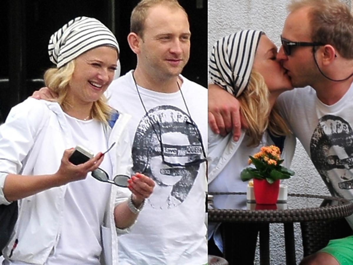 Borys Szyc i Justyna Nagłowska w Sopocie