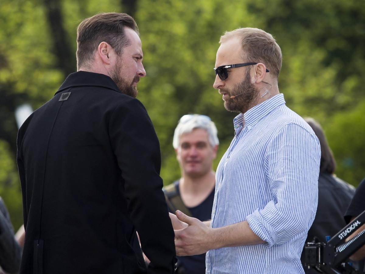 Borys Szyc i Paweł Małaszyński na Off Plus Camera