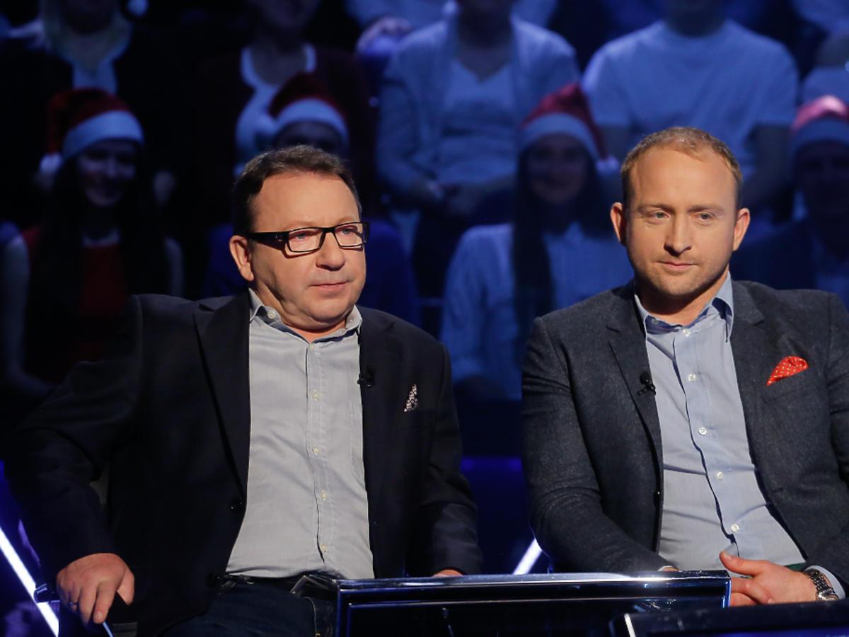 Borys Szyc i Zbigniew Zamachowscy w Milionerach