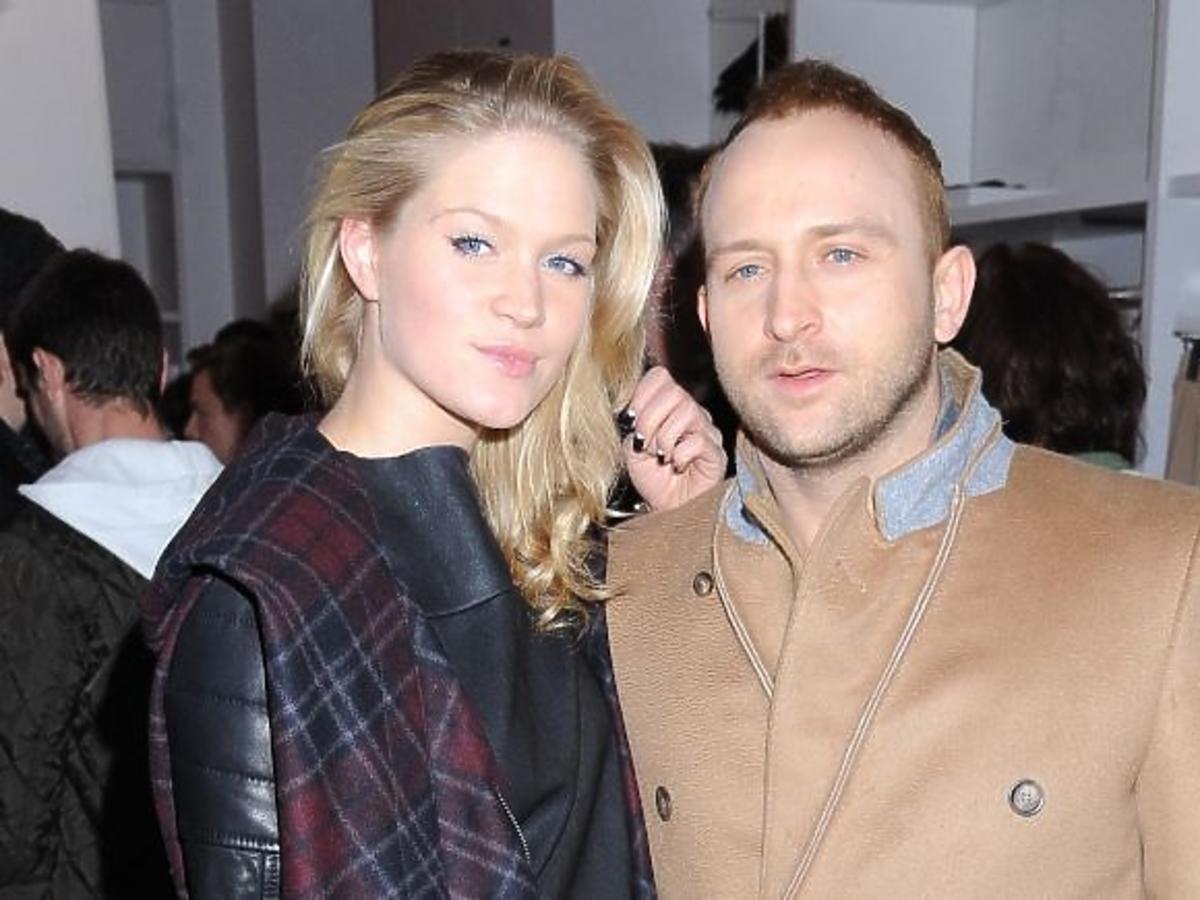 Borys Szyc i Zofia Ślotała na premierze kolekcji Maison Martin Margiela dla H&M