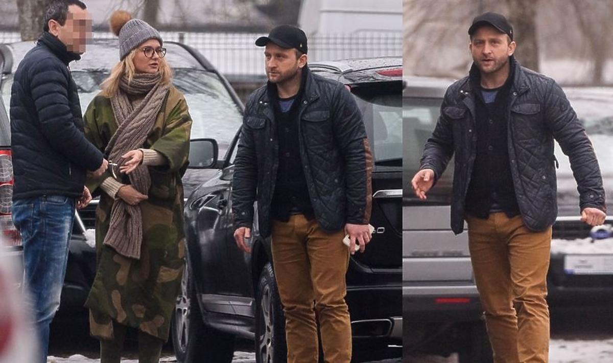 Borys Szyc jeździ samochodem za 200 tysięcy złotych