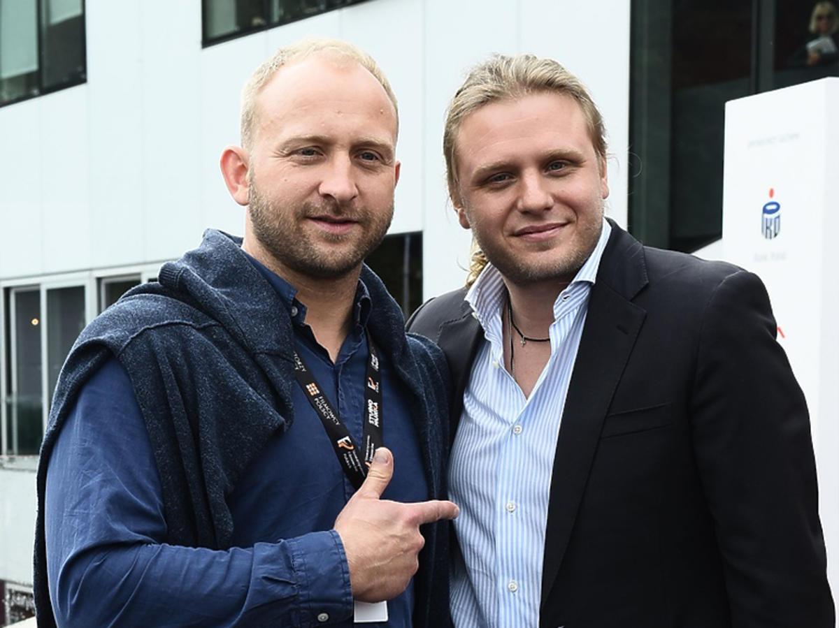 Borys Szyc żegna Piotra Woźniaka Staraka