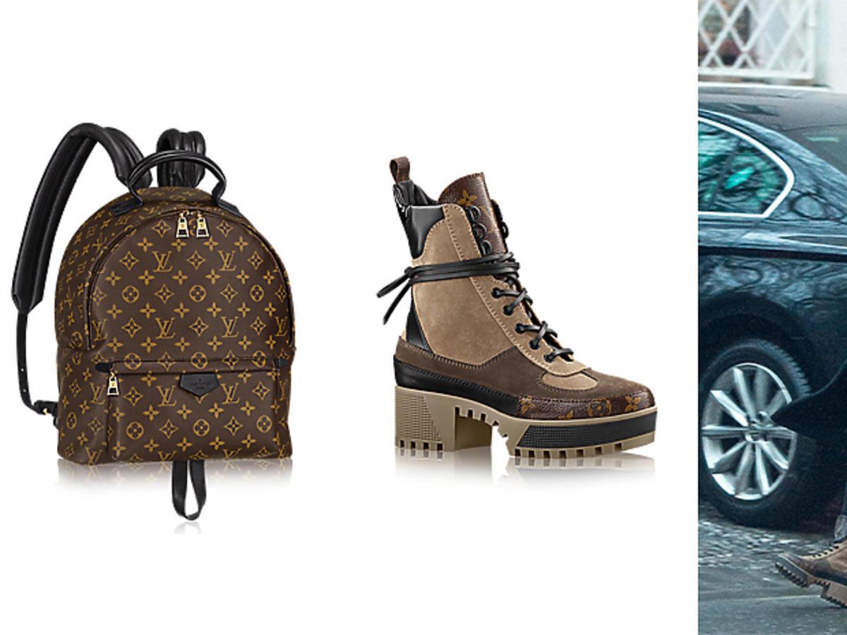 Botki Louis Vuitton jak Marina
