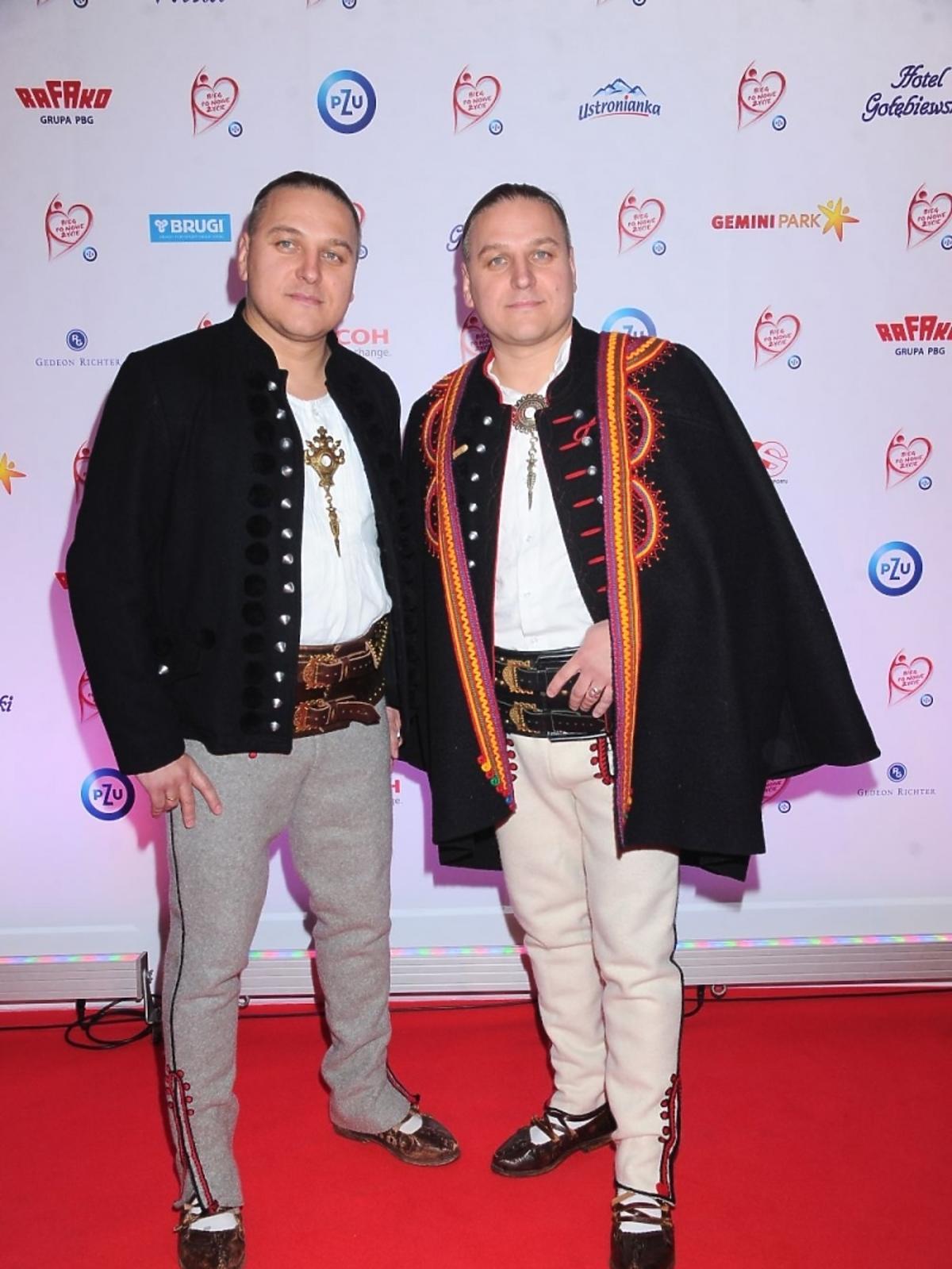 Bracia Golec na gali polskiej transplantacji