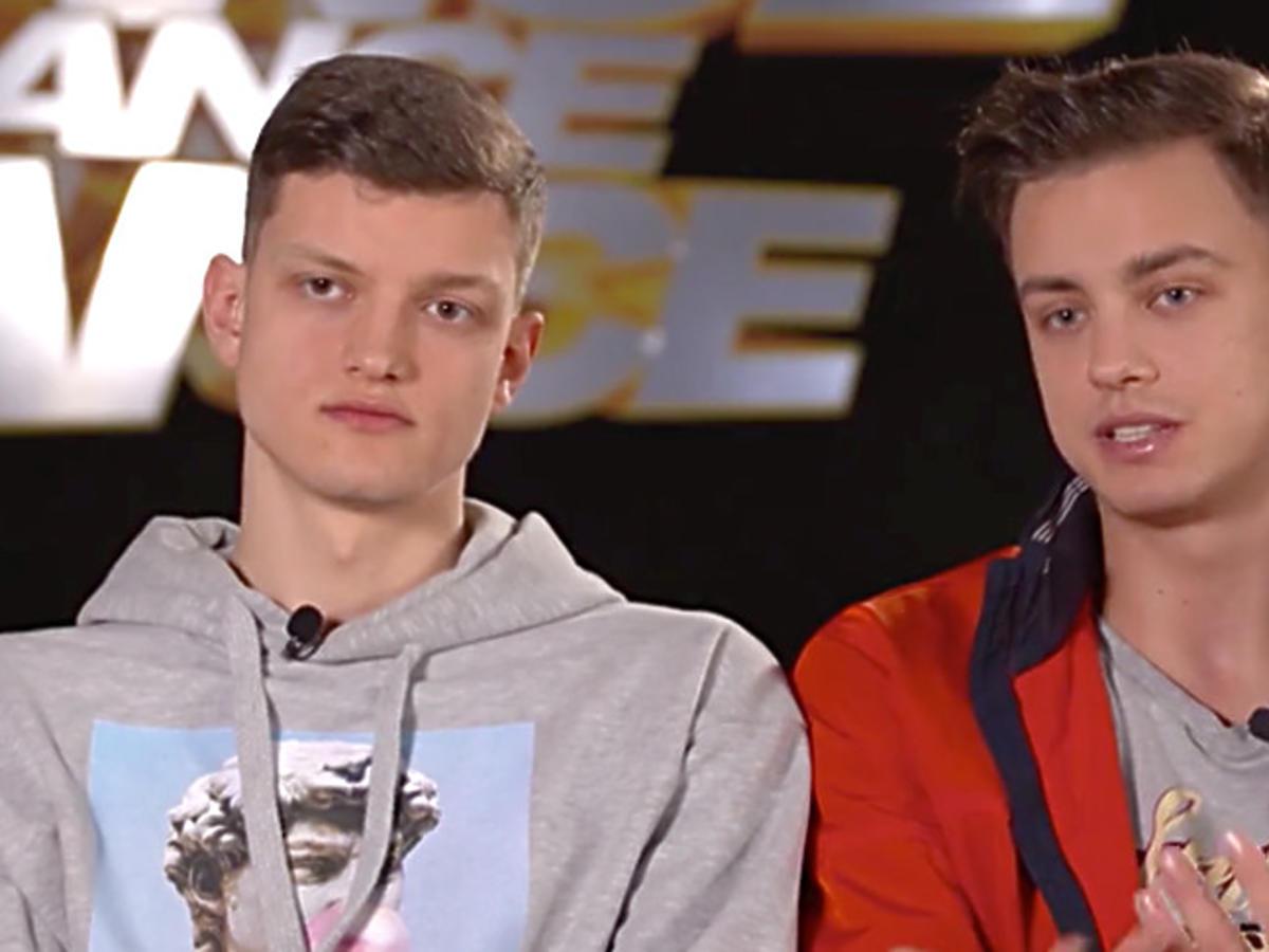 Bracia Krzysztof i Rafał Jonkisz w Dance, Dance, Dance