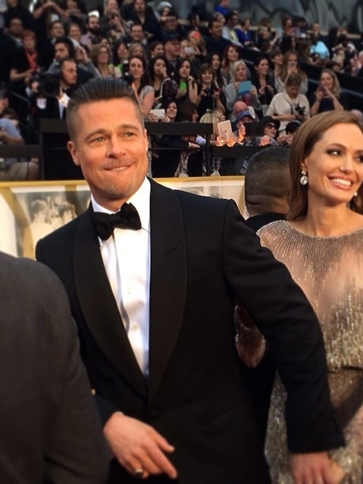 Brad Pitt i Angelina Jolie Oscary 2014