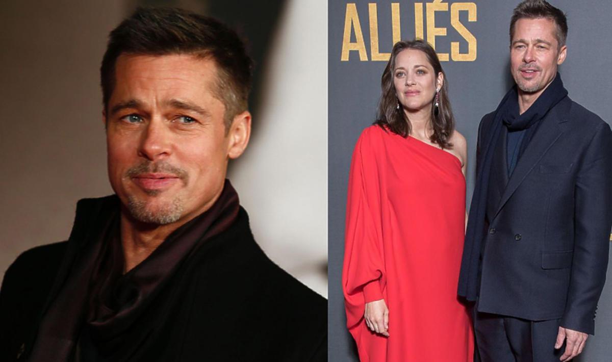 """Brad Pitt i Marion Cotillard na premierze filmu """"Sprzymierzeni"""" w Londynie"""
