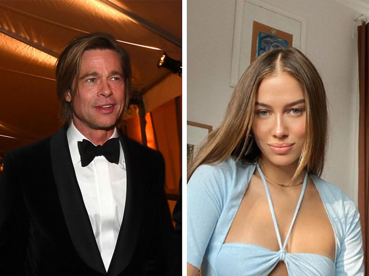 Brad Pitt i modelka Nicole Poturalski