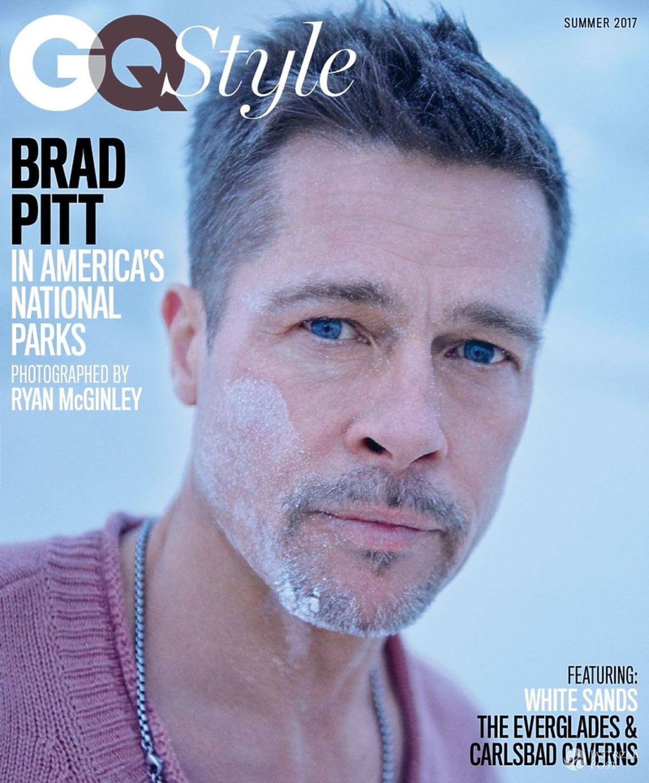 Brad Pitt na okładce GQ