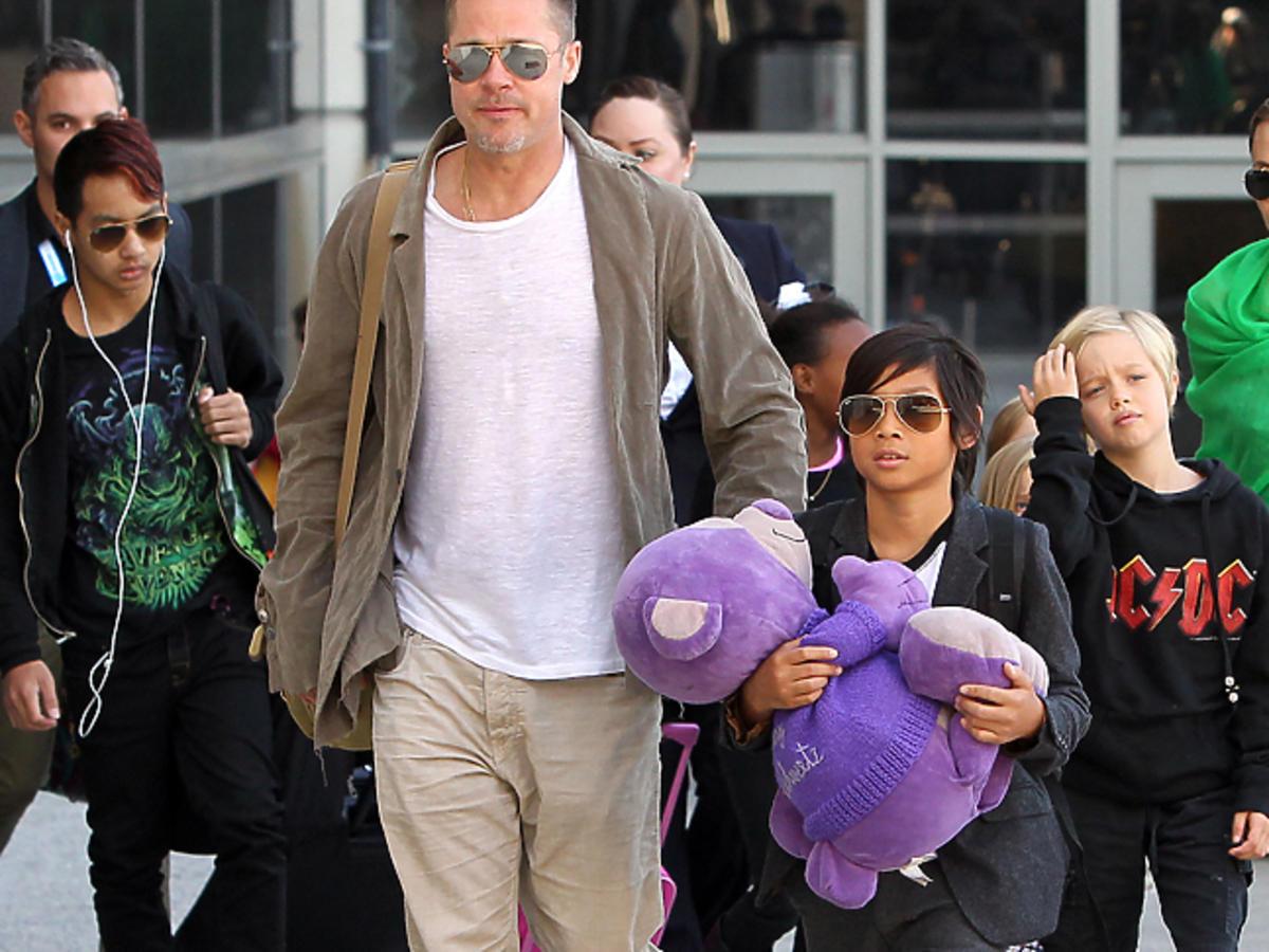 Brad Pitt oskarżony o znęcanie się nad dziećmi!