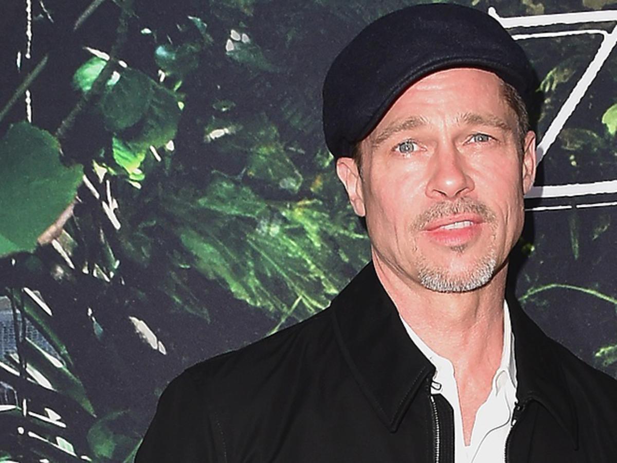 Brad Pitt w kaszkiecie