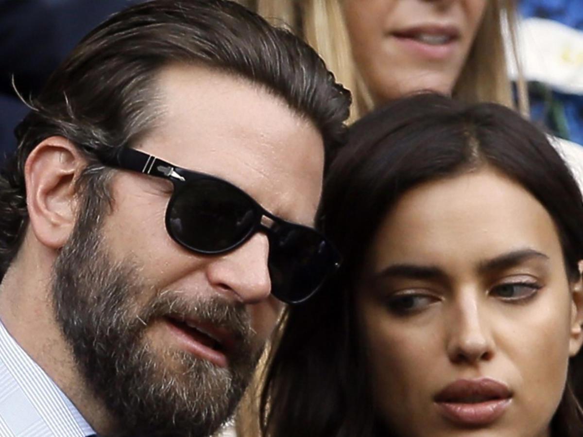 Bradley Cooper i Irina Shayk kłócą się na Wimbledonie