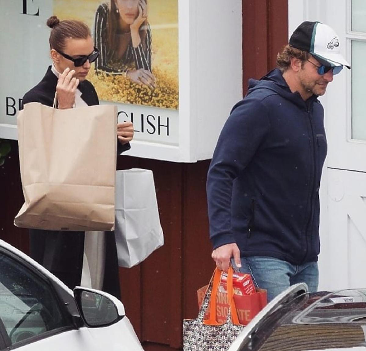 Bradley Cooper, Irina Shayk na zakupach