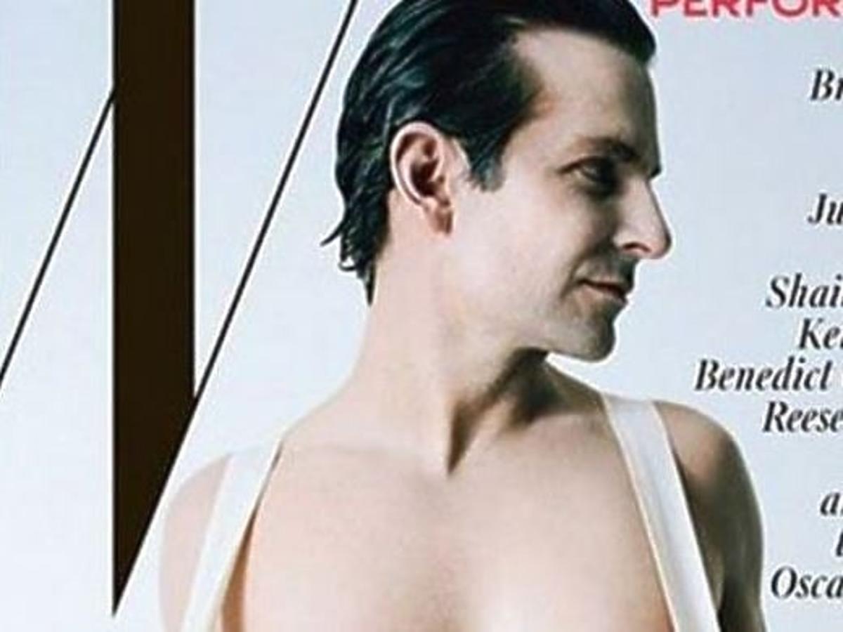 """Bradley Cooper rozberał się do magazynu """"W"""""""
