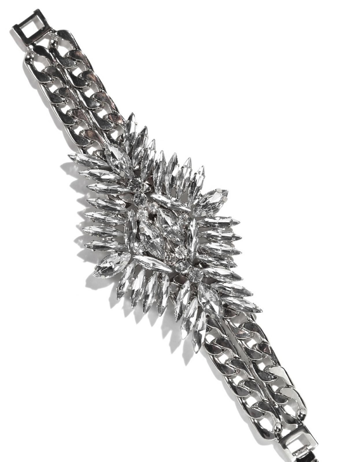 bransoleta z kryształków