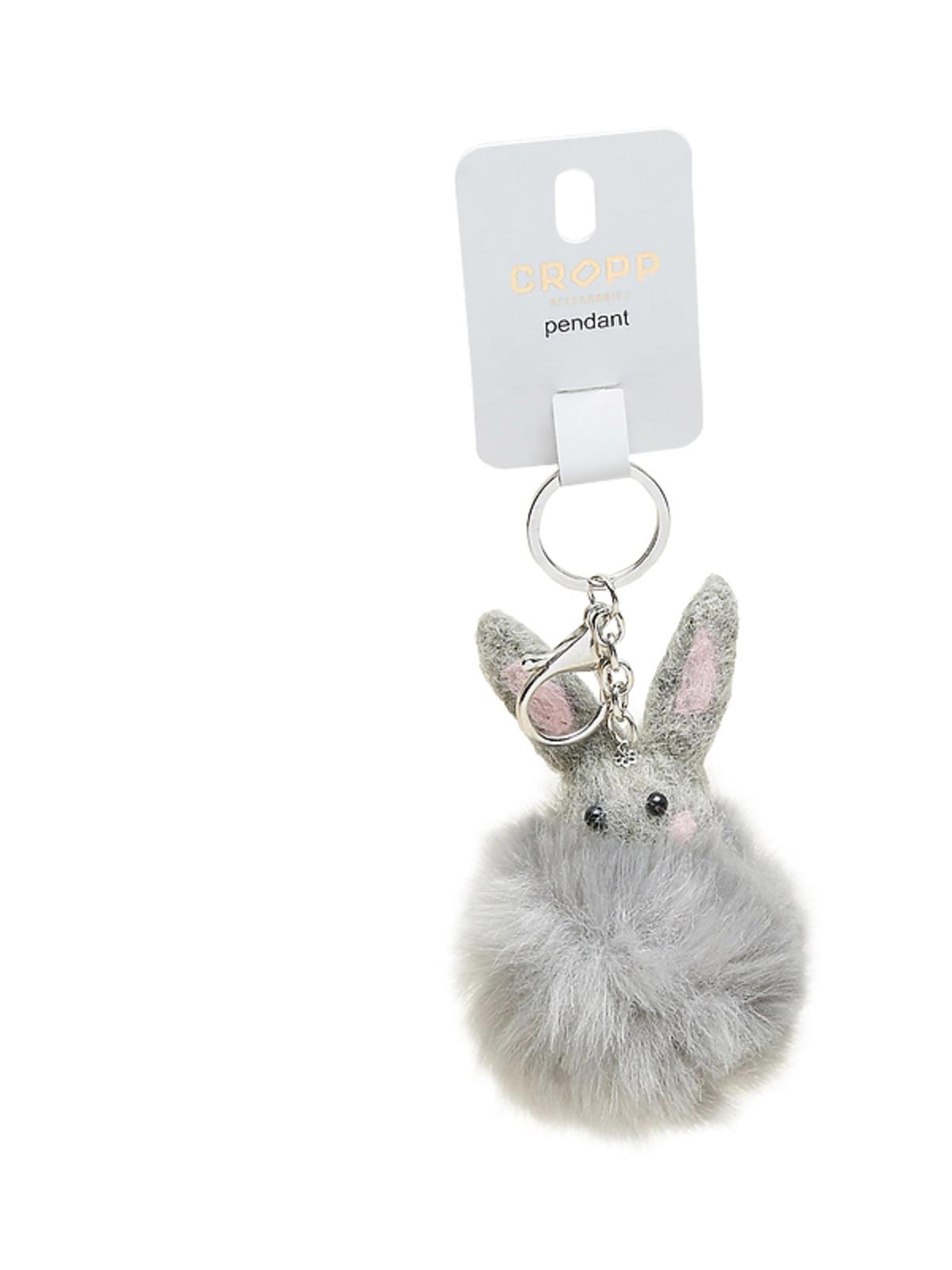 Brelok do torebki pompon królik, Cropp, cena: 29,99 zł