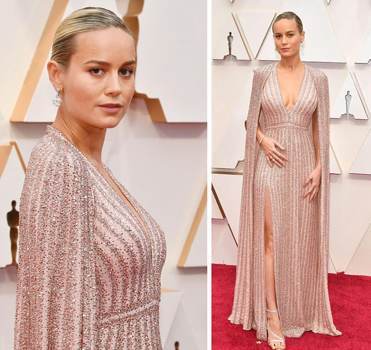 Brie Larson na gali Oscarów 2020