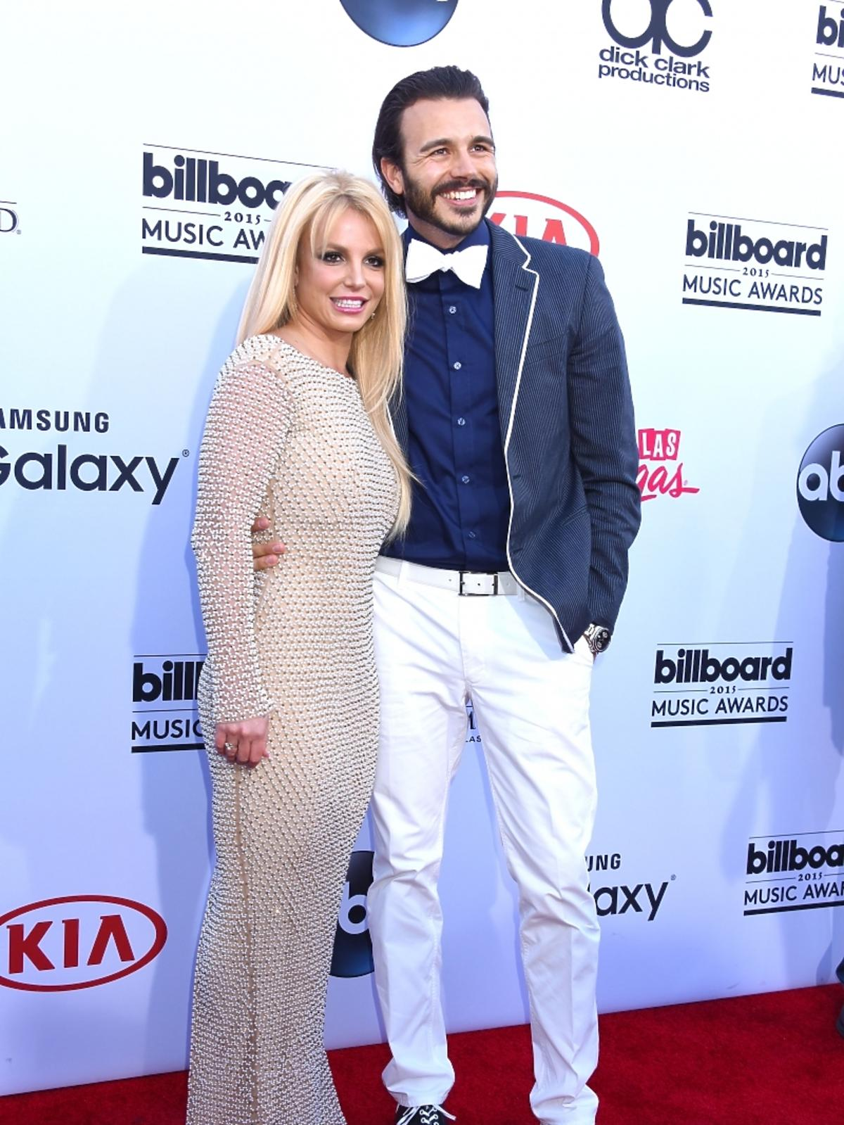 Britney Spears i Charlie Ebersol na gali Billboard Music Awards