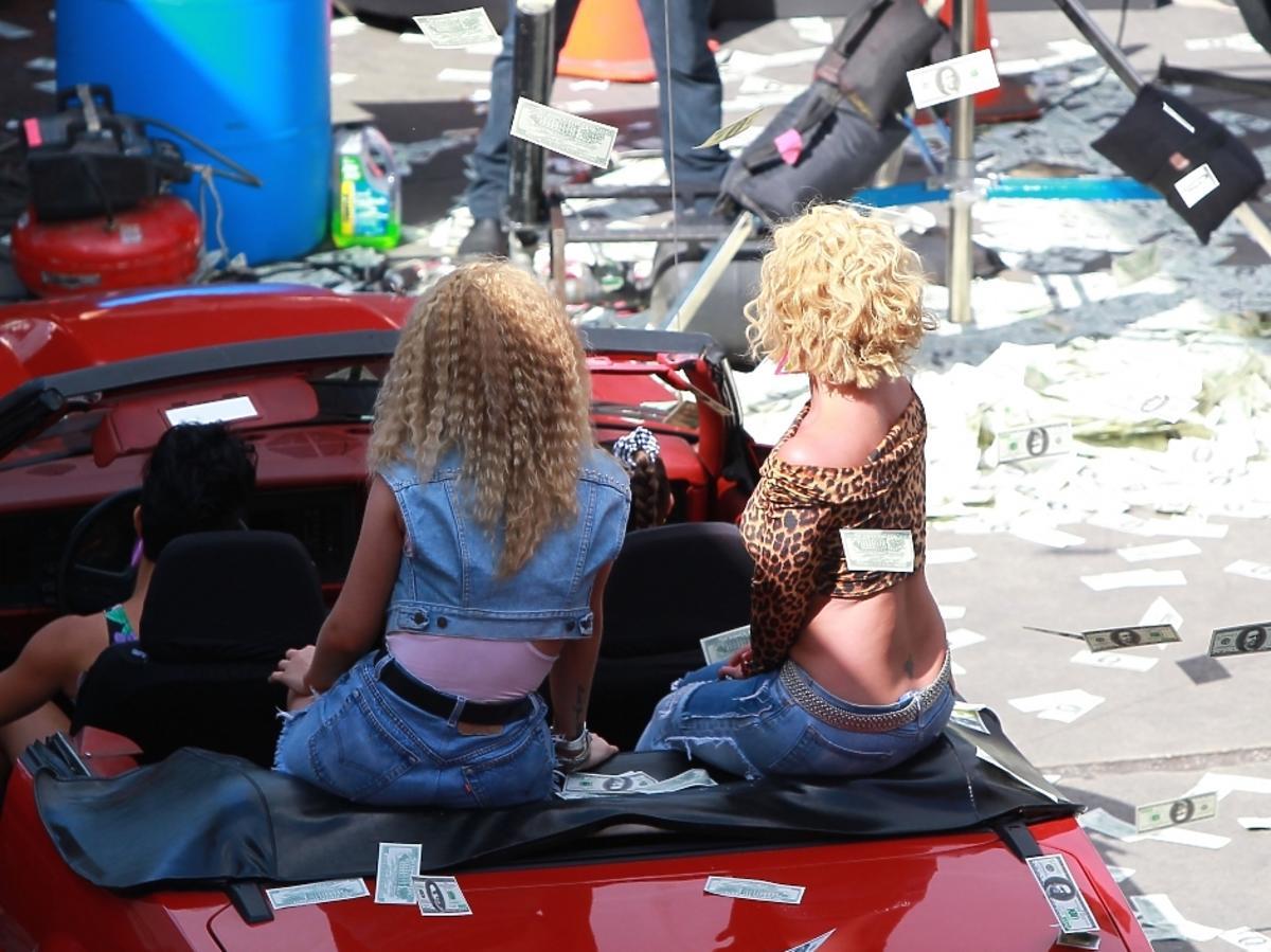 Britney Spears i Iggy Azalea nagrywają teledysk