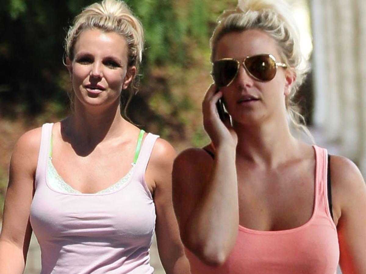 Britney Spears na co dzień