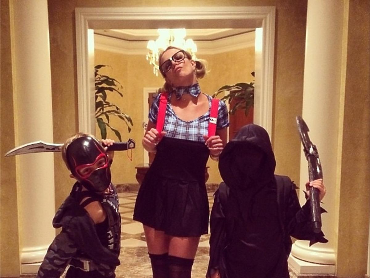 Britney Spears na Halloween