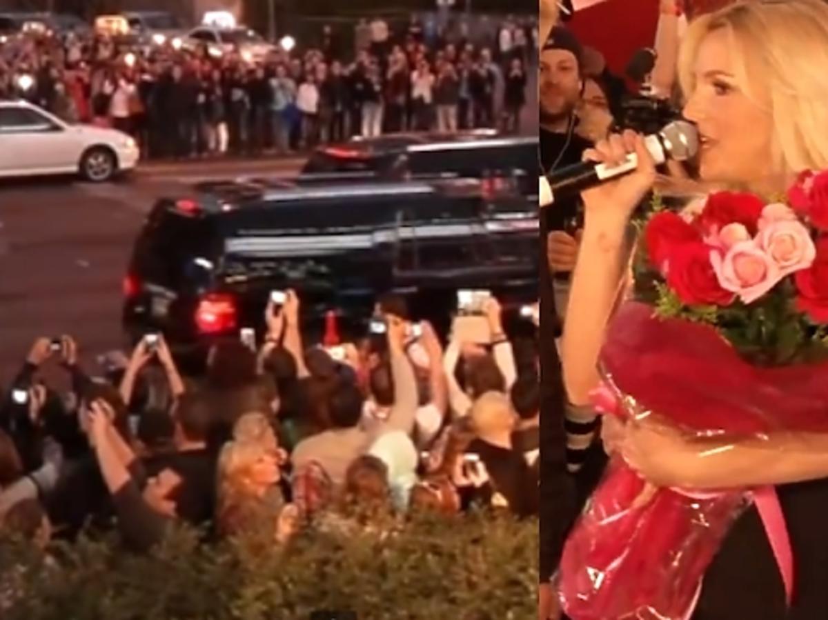 Britney Spears na otwarciu show w Las Vegas