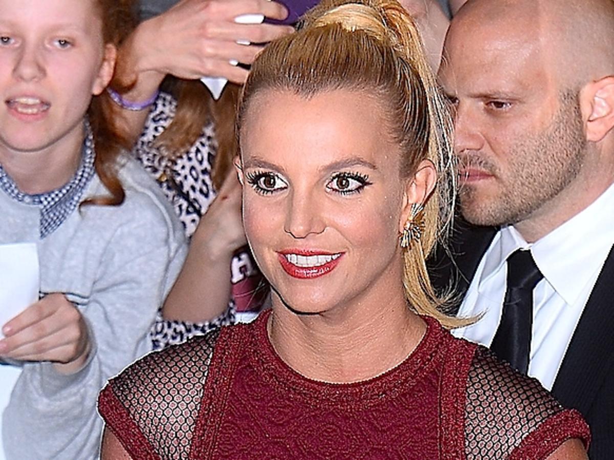 Britney Spears w koszulce SHE/S A RIOT. Britney Spears w koszulce polskiej marki
