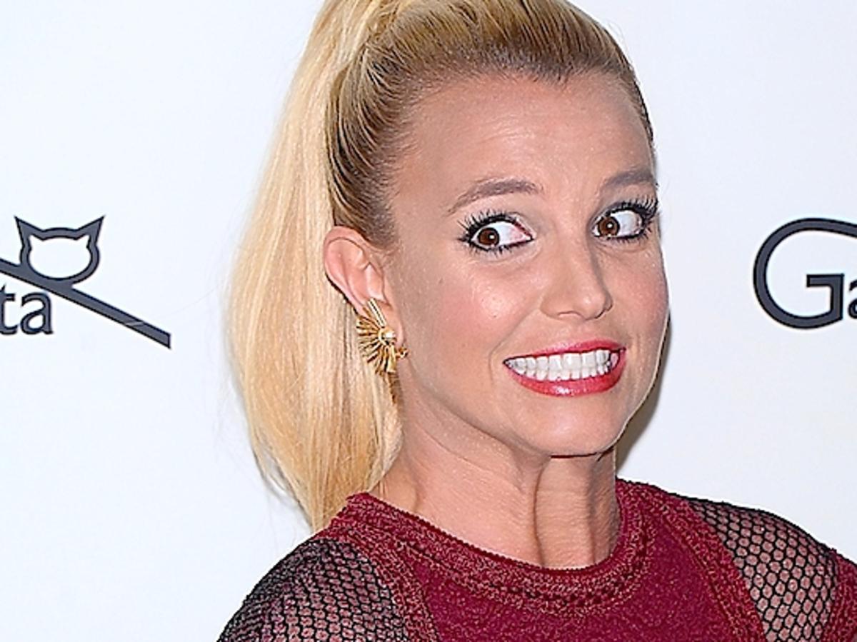 Britney Spears w krótkich włosach. Britney Spears w Berlinie