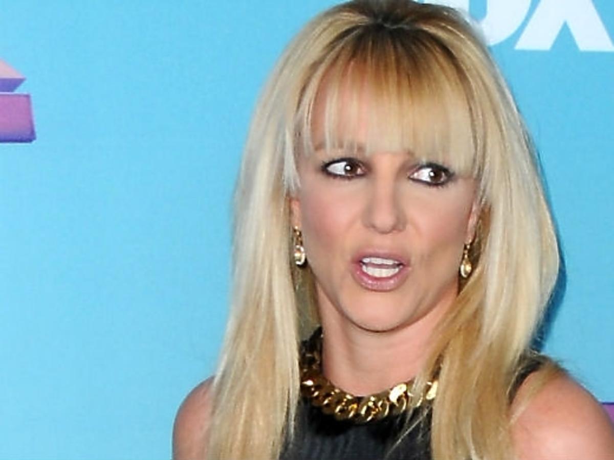 Britney Spears w reklamie bielizny