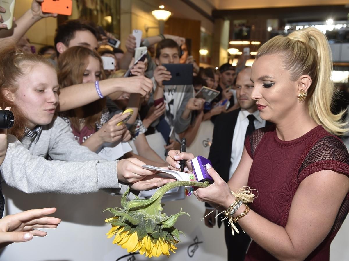 Britney Spears w Złotych Tarasach