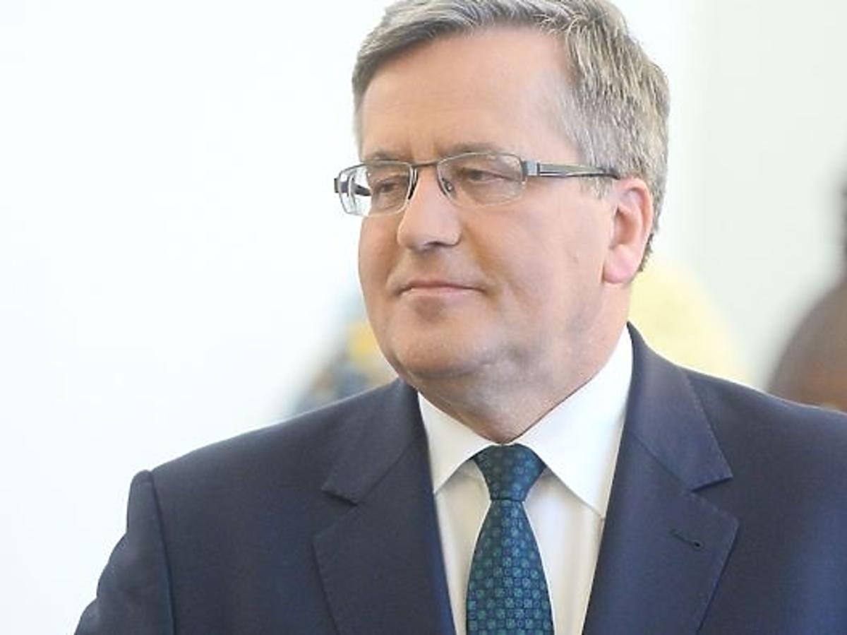 Bronisław Komorowski radzi jak przeżyć za 2 tysiące