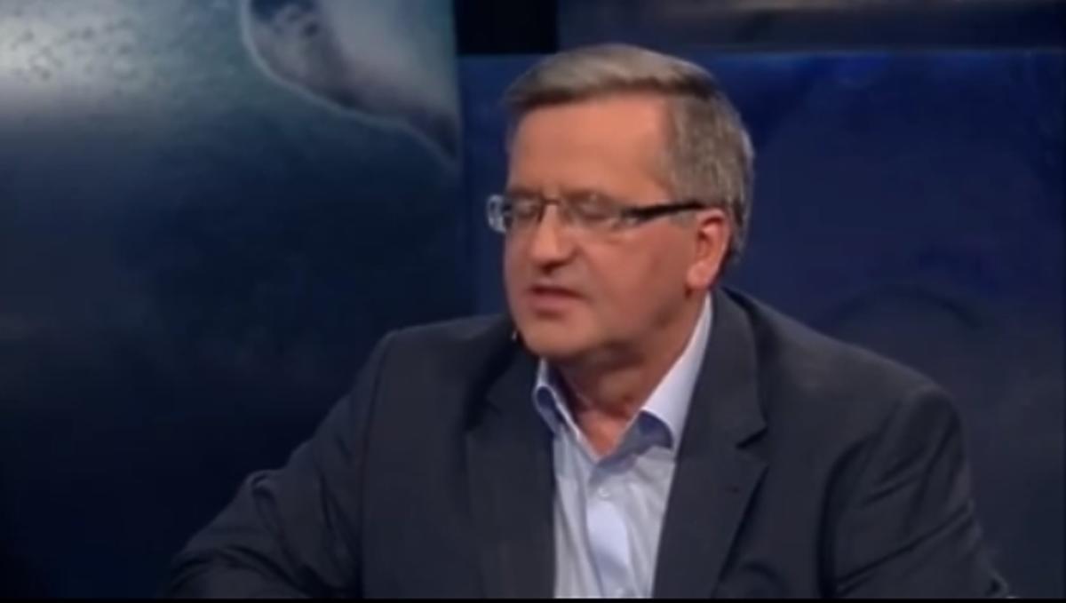 Bronisław Komorowski w programie Kuby Wojewódzkiego