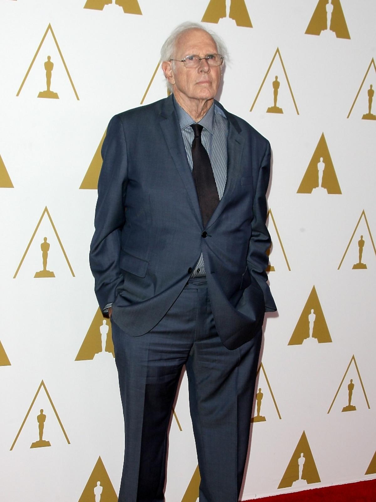Bruce Dern podczas konferencji prasowej nominacji do Oscarów 2014