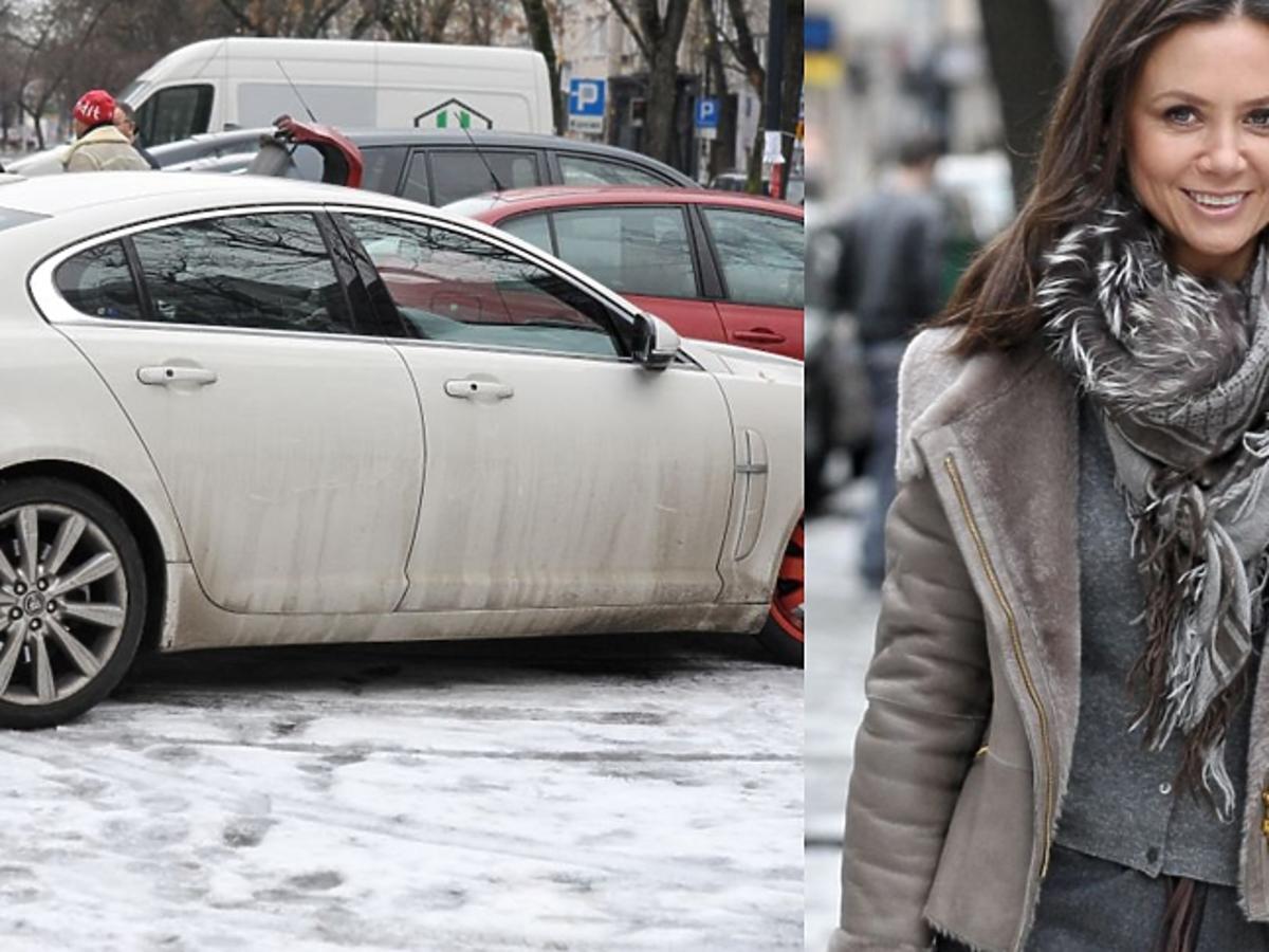 Brudny samochód Kingi Rusin