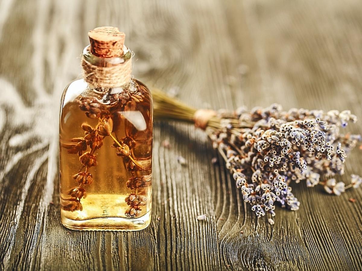 Butelka z olejkiem