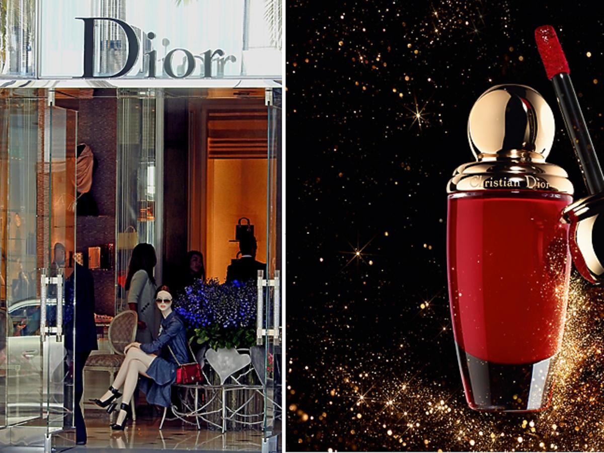 Butik Dior, kosmetyki Dior - szminka
