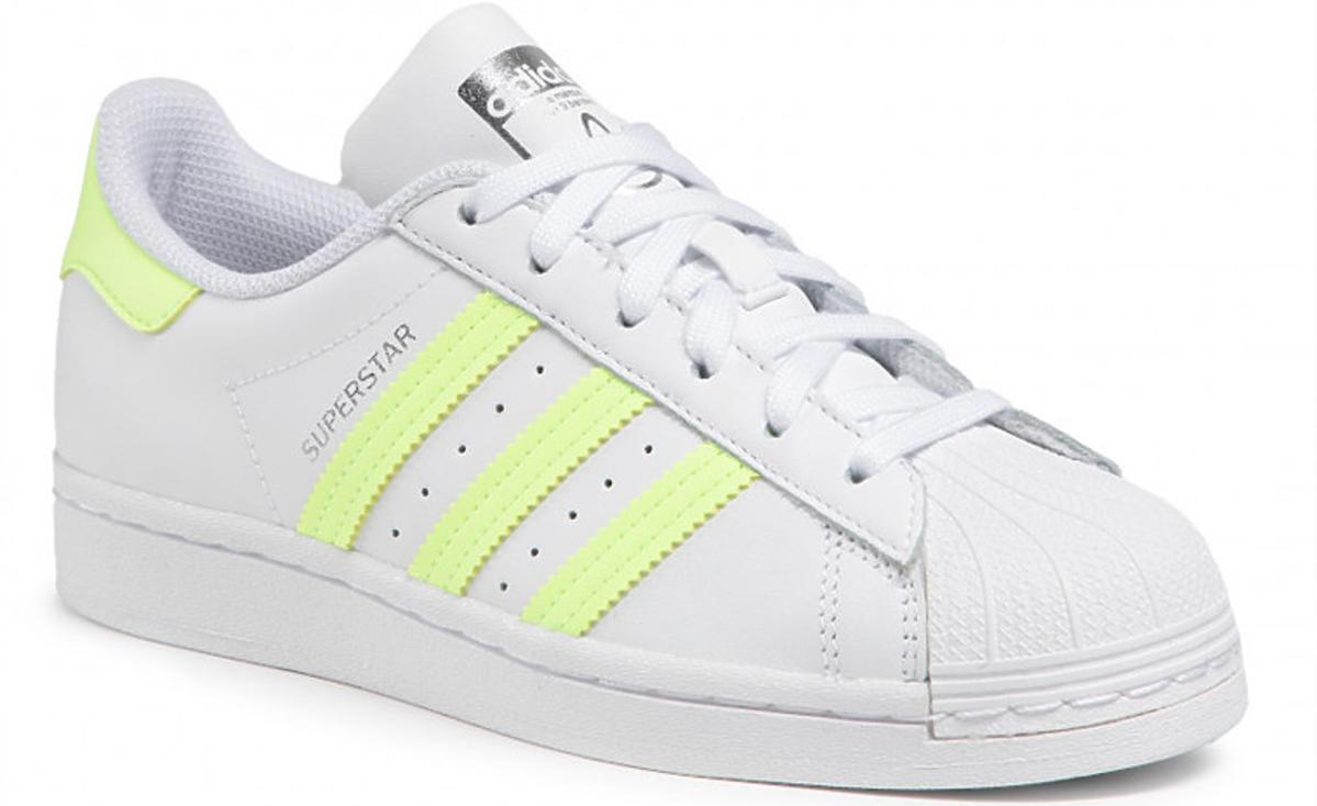 Buty Adidas z fluorescencyjnym żółtym