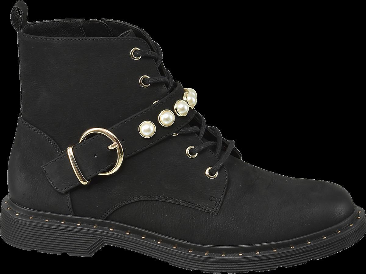 buty Deichmann z perłami