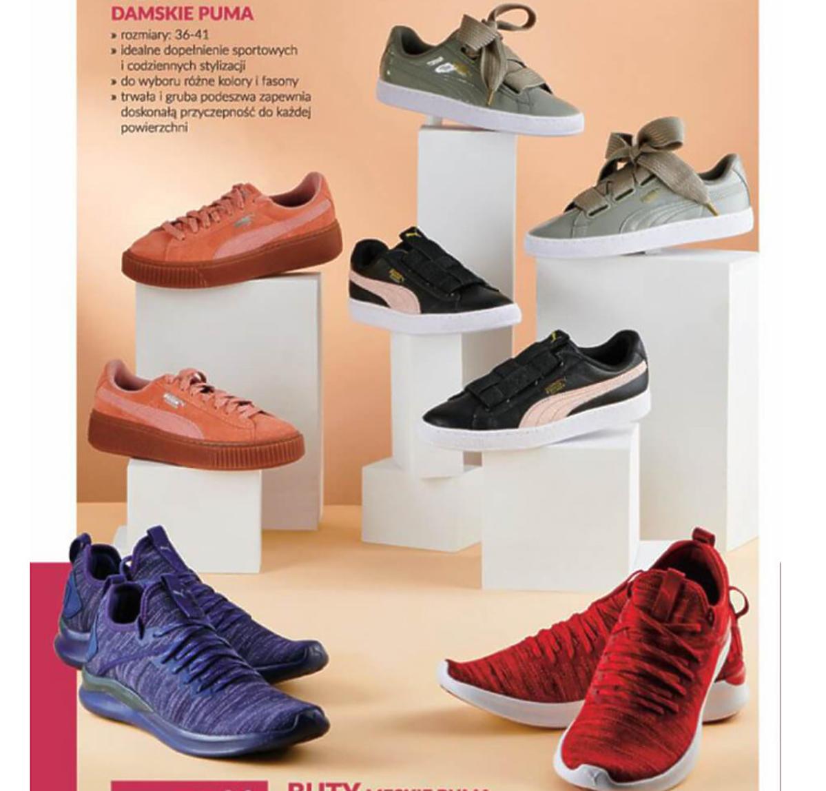 Buty Puma na promocji w Biedronce