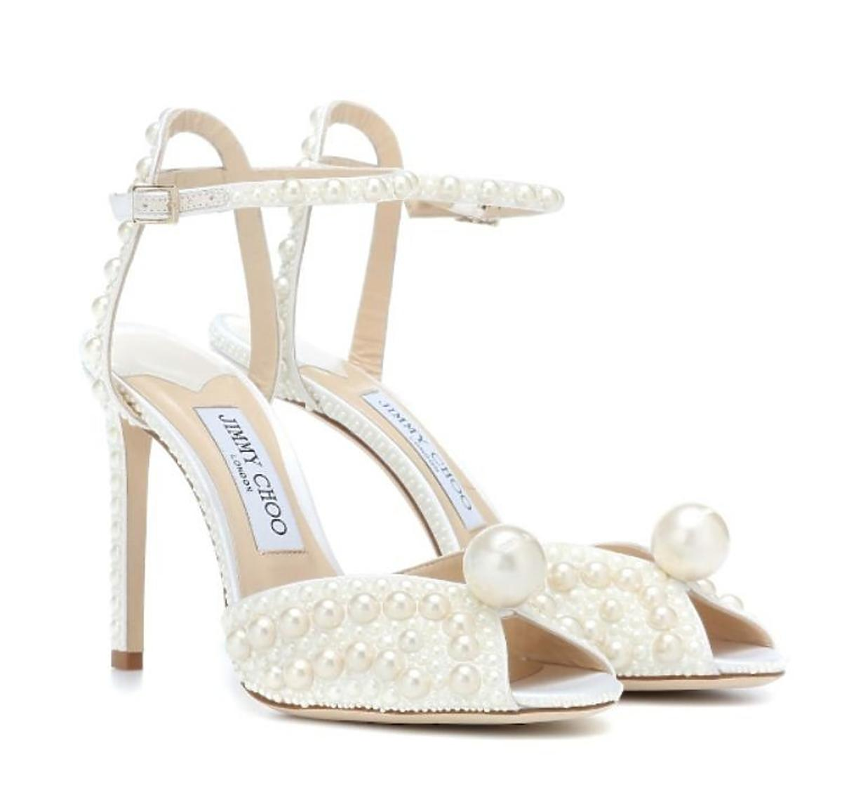 Buty ślubne trendy 2020-Jimmy Choo