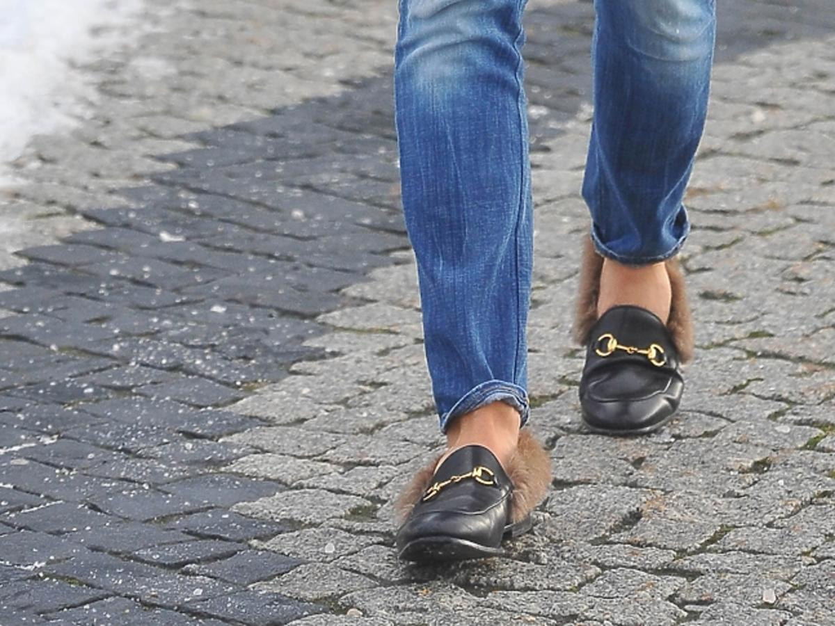 Buty z futerkiem Dawida Wolińskiego