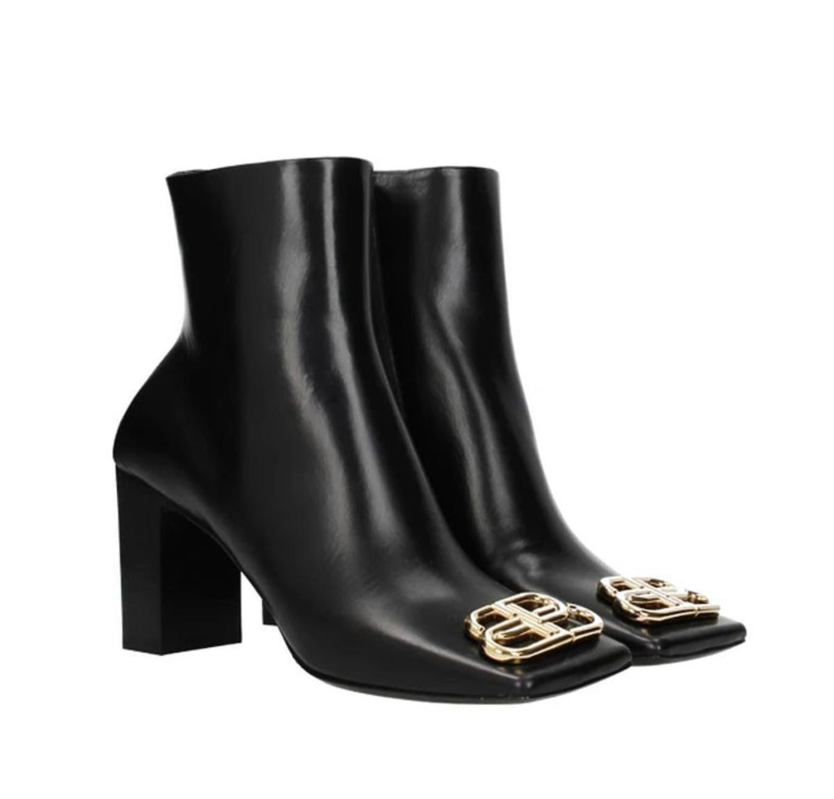 buty z klamrą Balanciaga
