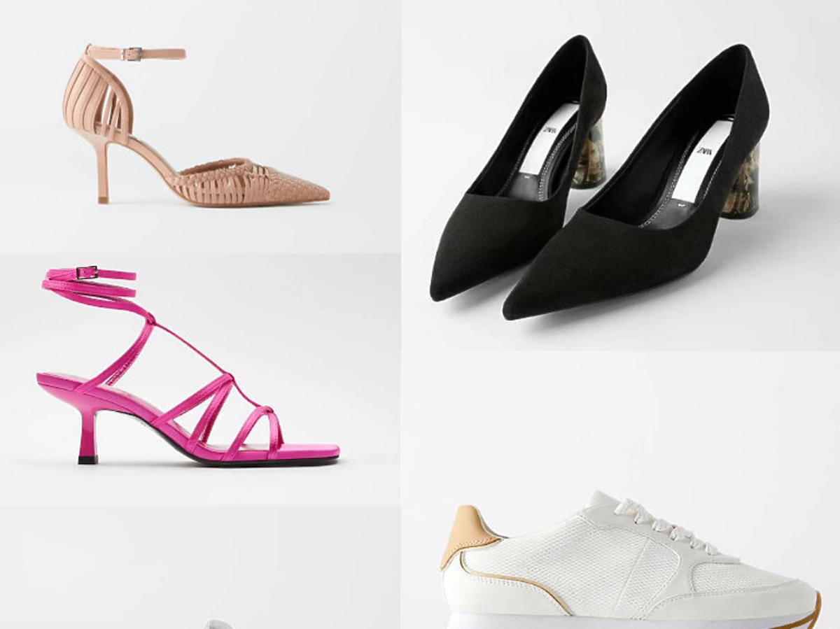 Buty z wyprzedaży w Zarze lato 2020